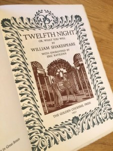 Ravilious, Eric, Twelfth Night, Golden Cockerel Press